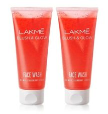 Lakme Blush & Glow Strawberry Gel Face Wash 100 gm (pack of 2)