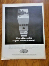 1965 Day & Night Air Conditioning Heating Water Heating Systems Ad Furnace