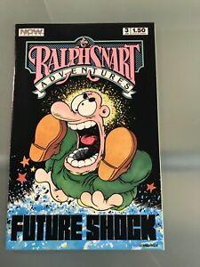 RALPH SNART ADVENTURES Vol 2 #3 : Now Comics 1987 Fn+; Marc Hansen art / story