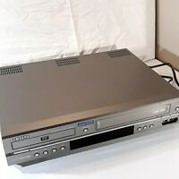 Samsung DVD-V2000 DVD/VCR Video Recorder Combo 4 Head Tested No Remote Parts?