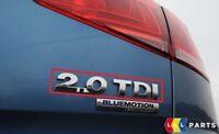 NEW GENUINE VW CADDY EOS GOLF PASSAT SHARAN REAR 2.0TDI LETTERING BADGE EMBLEM