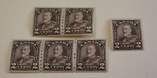 Canada Stamps Scott # 182 2C Issue Coil Stamps MNH - lot of 6 stamps