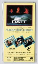 "RATT Nobody Rides For Free JAPAN 3"" CD SINGLE MVDM-2 WIRE TRAIN I Will Not..NM"