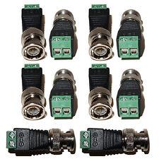 10pcs CCTV Security Camera Cat5 Cat6 to BNC cable Coax Connector Screw Terminal