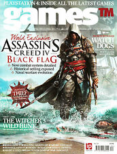 GAMES TM Magazine #134 ASSASSINS CREED IV: BLACK FLAG The Witcher 3 @NEW@