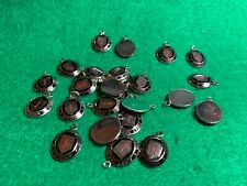 Lot of 25 1970's Vintage Us Army 1st Infantry Division Metal Charms