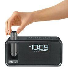 iHome Black Dual Charging Bluetooth Alarm Clock - iKN105 NEW Free shipping