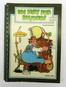 101 Hits For Buskers Book One Piano/Organ