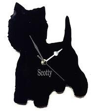 West Highland Cane Orologio con cani NOME