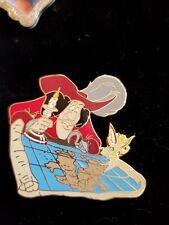 Disney Tinker Bell & Captain Hook Neverland Map 2000 Memorable Moment Pin