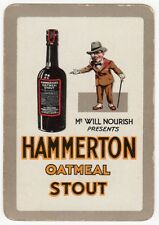 Playing Cards Swap Card Old Wide HAMMERTON OATMEAL STOUT Beer STOCKWELL BREWERY