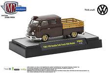 M2 Auto Thentics 1961 VW Double Cab Steak Bed Truck 5,380 pcs 1:64th #VW04