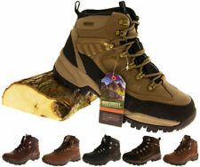 Northwest Men's 100% Leather Walking, Hiking, Trail Shoes