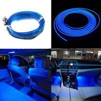 2M Car Panel Neon Lamp Strip Blue Cold EL OLED Interior Light Trim Atmosphere