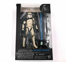 """Hasbro Star Wars Black Series 6"""" #01 Sandtrooper Trooper - New Boxed"""