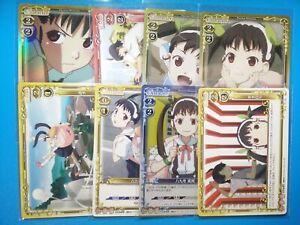 Precious Memories WAIFU PACK Assorted 8 Card Collection Mayoi Hachikuji Bakemono