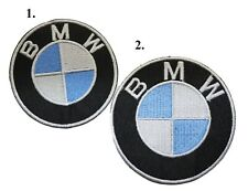 BMW Car Patches Embroidered Iron or Sew on Applique Badge Logo for clothes etc.