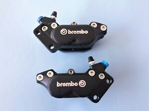 DUCATI 851/BIMOTA/MAGNI EARLY  4 PISTON BREMBO CALIPERS PAIR 40MM MOUNT CENTRES