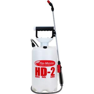 Garden Sprayer Adjustable Nozzle Wand Pump Handle Heavy-Duty 2 Gal Capacity New