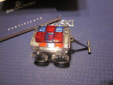 SWAROVSKI CRYSTAL MEMORIES TOY WAGON WITH BLOCKS SIMPLY SPARKLES  MIB!!!!