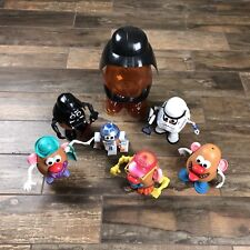 Lot Over 40 Pieces Of Mr Potato Head Star Wars and Other