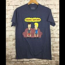 New Beavis And Butt-Head T Shirt Sitting on Couch Mens' Medium MTV Funny TP
