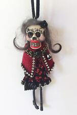 Halloween*Day of the Dead*Dia de los Muertos* Skeleton Catrina Doll Ornament