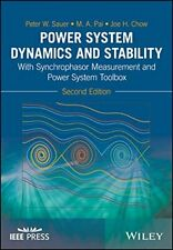 Power System Dynamics and Stability: With Synch, Sauer, Pai, Chow+=