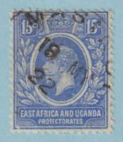 EAST AFRICA AND UGANDA PROTECTORATES  6  USED - NO FAULTS VERY FINE!