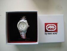 Rhino by Marc Ecko E8M121MV Women's Roman Roulette Mother-of-Pearl Watch $90