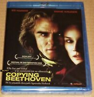 COPYING BEETHOVEN  *Bluray region B*  English Español  -  Precintada