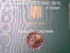 2 euro VATICAN 2010 fdc année sacerdotale Vaticano Vatikan anno sacerdotale