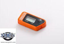 compteur d heure sans fil vibration moto motocross Orange KTM