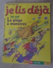 Je lis déjà 134 Le piège à monstres