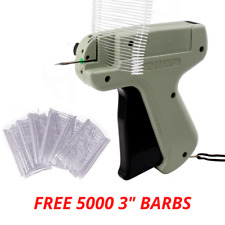Tagging Gun System Free 5000 Barbs Kimble Price Tag Label For Garment Clothes UK