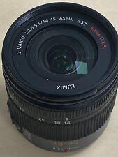 Panasonic Lumix G 14-45mm O.I.S ASPH Lens. for GH3 GH4 G1 G2 G3 G5 G6 GF5 GX8 GX