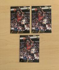 1992 UPPER DECK AN1 MICHAEL JORDAN LOT x3 ALL-NBA TEAM INSERT