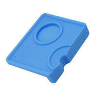 Coffee Tamper Mat Coner Pad for Espresso Coffee Machine and Grinder Blue
