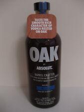 Absolut vodka Oak 750ml usa version