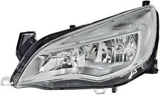 HELLA GENUINE OEM 1LG010011-331 LEFT HEADLIGHT OPEL ASTRA J '09-> CHROME