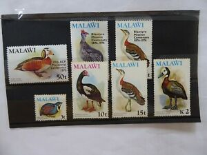Malawi 1975 Birds MNH