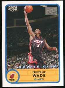 2003-04 Topps Bazooka #252 Dwyane Wade Miami Heat RC Rookie
