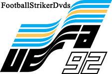 1992 Uefa Euro Group 1 Denmark vs England Dvd