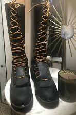 """Hoffmans Kellogg ID16"""" Pole Climber Lineman Logger Boots Leather Mens Size 8.5"""