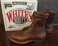 Limited Edition White's Boots Farmer Rancher British Tan Horween Chromexcel 9.5