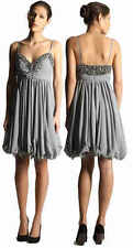French Connection Embellished Dance Tutu Flare Prom Wedding Party Dress  6 to 14