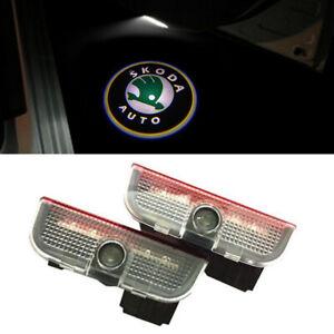 Türlicht LED Beleuchtung Logo Laser Projektor für Skoda Superb Bj 2009-18