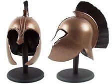 Full Size Troy Greek Achilles Trojan Medieval Helmet Armor Stand