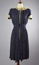 1930's/1940's Polka Dot Carole King Juniors Two Piece Dress Set