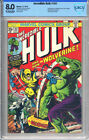 THE INCREDIBLE HULK #181 CBCS 8.0(1ST FULL WOLVERINE 1974)KEY/HOLY GRAIL not CGC